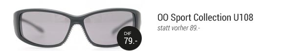 OO Sport Collection U108 CHF 79.00