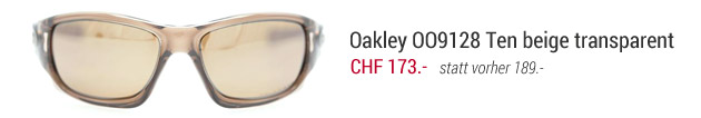 Oakley Ten in beige transparent noch CHF 173