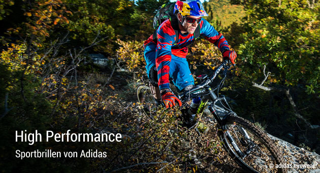 High Performance die Sportbrillen von Adidas